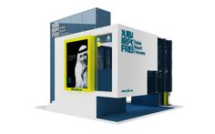 Exhibition Booths and Stands by Hazem Treasure, via Behance