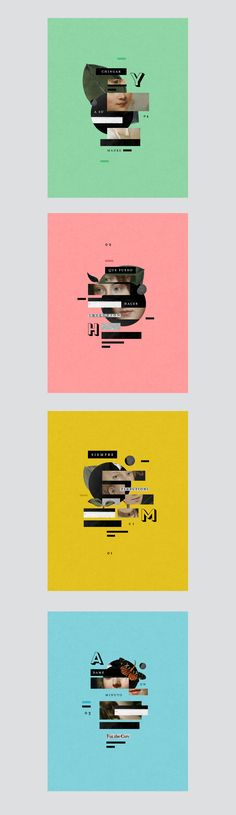 on Graphic Design (With images) Graphic Design Posters, Graphic Design Typography, Graphic Design Illustration, Graphic Design Inspiration, Layout Design, Print Design, Crea Design, E Mc2, Collage Design