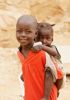 **brother and sister in Niger