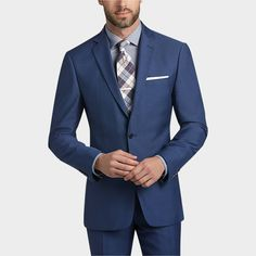 Buy a Calvin Klein Blue Postman Extreme Slim Fit Suit and other Extreme Slim Fit at Men's Wearhouse. Browse the latest styles, brands and selection in men's clothing.
