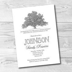 37 Best Family Reunion Invitations Images Family Reunion