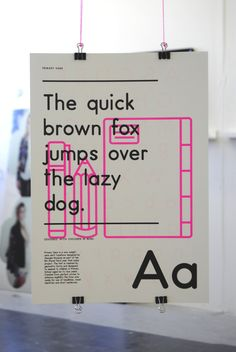 Primary Sans by Georgia Roussos, via Behance