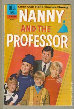Nanny and the Professor comic book.