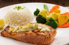 Blackened Salmon @ Morganfield's | GoMakan | Malaysia | Kuala Lumpur | Food | Eat | Salmon