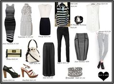 Affordable black and white pieces  #trend #recessionista #blackandwhite #fashion #iammode