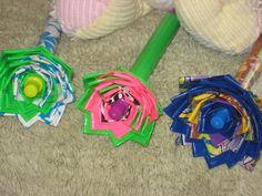 Retractable Flower Pens