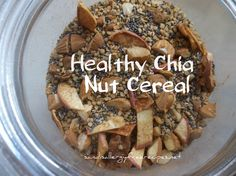 Healthy Chia Nut Cereal by Sandi's Allergy Free Recipes