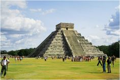 """Chichén Itzá, Mexico. One of the """"Seven Wonders of the World""""."""