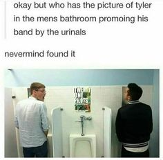 Scrolling down feed... Oh what's this..  **reads picture**  Umm Alrighty Tyler you do what you have to, to promote  |-/