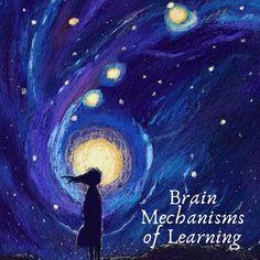 Brain Mechanisms of Learning – Poetic Mindfulness Art And Illustration, Illustrations, Arte Inspo, Arte Van Gogh, Van Gogh Art, Art Anime, Star Art, Moon Art, Aesthetic Art
