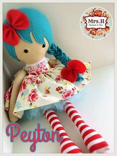 Peyton handmade doll tutu skirt