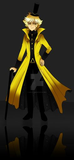 Human Bill Cipher by Jack-a-Lynn on DeviantArt<<< I love this version of me
