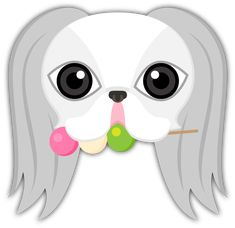 Japanese Chin Emoji Stickers Are you a Japanese Chin puppy lover? Everyone loves Japanese Chins! This cute FREE Japanese Chin puppy dog sticker pack is sure to make you and your friends smile. #japanesechin #japanesechin #japanesechinsofinstagram #japanesechins #japanesechinstagram #japanesechinmix #japanesechinpugmix #japanesechinpuppy #emoji #dango #sweet #treat #dogtreat #delicious