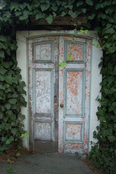 Love the ivy and the old door...would love to take a pic here ;)
