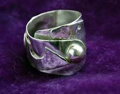 chunky silver ring - Google Search