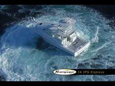 Rampage Yachts 34 IPS Express Sportfishing Mode