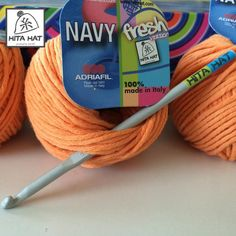 Un #buongiorno solare come questo morbido #cotone #hitahatfresh #navy #Adriafil <3 http://www.hitahat.com/filati  #crochet
