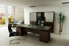 GNA-175 Conjunto presidente. #Escritorio, #Sillas, #Oficina, #Muebles, #Decoración, #DiseñoDeInteriores, #Gaveta