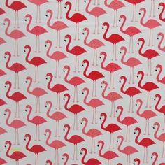 Flamingos cut as Fat Quarter Orla Kiely Fabric, Marimekko Fabric, Designers Guild, Japanese Fabric, Fabric Online, Fabric Swatches, Quilts, Contemporary, Holiday Decor