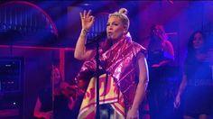 Watch P!nk's #beautifultrauma performance on #SNL Part I P!NK (Alecia Beth Moore) Fanclub http://ift.tt/2uNVxEO