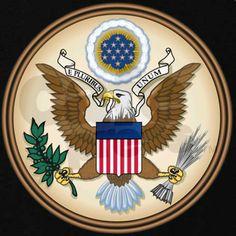 b800e96f97f4 Presidents Seal Zip Hoodie (dark). CafePress