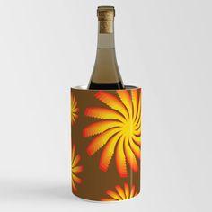 60s Retro Spiral Star Sun Rays Wine Chiller Wine Chillers, Sun Rays, Spiral, Stars, Retro, Artwork, Crafts, Work Of Art, Manualidades