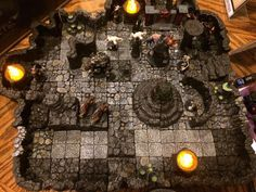 Savage Worlds Ripper campaign with DwarvenForge tiles Rpg Board Games, Savage Worlds, Project 4, City Photo, Tiles, Campaign, Adventure, Room Tiles, Tile