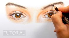 In this tutorial I will show you the techniques I have used drawing these realistic eyes with Faber Castell and Caran d'ache pencils. Tutorial how to color d...