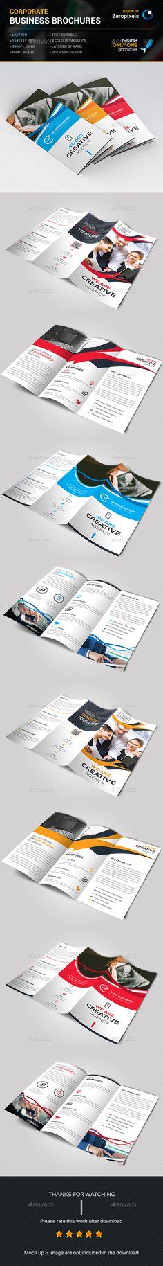 Trifold Brochure Bundle Templates PSD. Download here: http://graphicriver.net/item/trifold-bundle/16149309?ref=ksioks