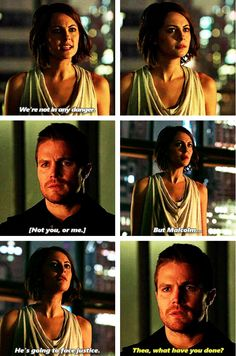Arrow - Oliver & Thea #3.15 #Season3