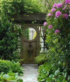 gate door.