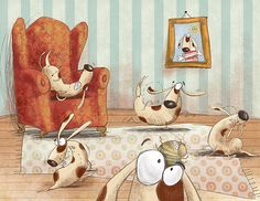 Dog Book on Behance by Susan Batori