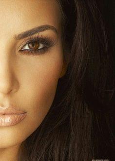 Kim Kardashian Eye Make-up!