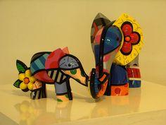 Romero Britto Elephants