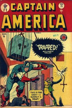 Captain America Comics #71