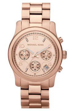 Rose Michael Kors Watch