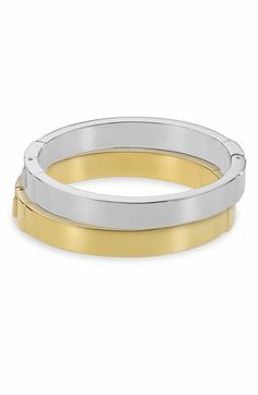 Michael Kors Hinged Bangle available at #Nordstrom