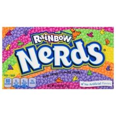 Buy Wonka Rainbow Nerds Theater Box at Mighty Ape NZ NERDS! A rainbow of flavors bursts from these tingy, tangy, crunchy American candies! Nerds are tiny, tangy crunchy candy Ready for sharing and p. Nerds Rope, Candy Videos, Nerds Candy, Candy Buffet Tables, Rainbow Candy, Slurpee, Sugar Candy, Grocery Items, Candy Bowl