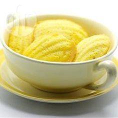 Madeleines de limão siciliano @ allrecipes.com.br