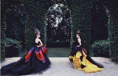 Christian Dior Haute Couture de l'artiste Patrick Demarchelier
