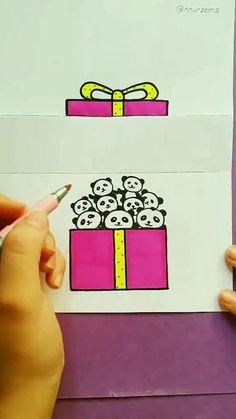 Happy Birthday Doodles, Happy Birthday Drawings, Happy Birthday Cards Handmade, Creative Birthday Cards, Happy Birthday Art, Cute Birthday Cards, Happy Birthday Painting, Diy Cards For Boyfriend, Diy Birthday Card For Boyfriend