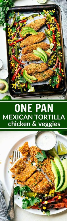ONE PAN Mexican Tort