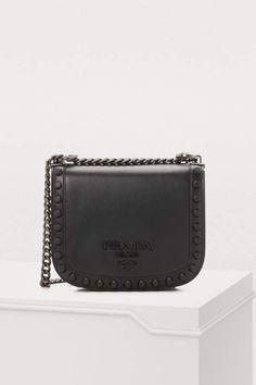 c62284589340 Prada Pionniere Studs shoulder bag Prada Bag, Prada Handbags, What's In My  Purse,