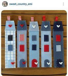 Crea estos divertidos separadores para regalo. #proyecto #costura #facil: