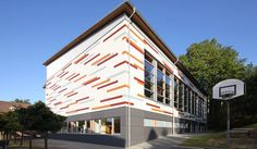 School in Willingshausen, Germany. EQUITONE facade materials. equitone.com