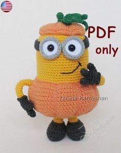 Hey, j'ai trouvé ce super article sur Etsy, chez https://www.etsy.com/fr/listing/246362690/pumpkin-monster-amigurumi-crochet