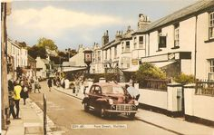 Fore Street, Shaldon circa 1960's - 70's South Devon, Growing Up, British, England, Holidays, Explore, Street, Places, Holidays Events