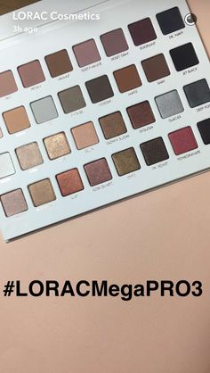 Straight from the Lorac Cosmetics Snapchat: COMING THIS OCTOBER! ✨ Lorac Mega Pro 3 Palette  Can't wait to get my hands on this!!  #Lorac #LoracMegaPro #Makeup