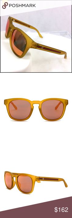 901e95e08f5 NWT✨GUCCI Square Sunglasses NWT Gucci Square Sunglasses • SIZE  55-21-