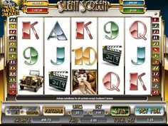 Silent Screen - http://freeslots77.com/silent-screen/ - Free Silent Screen online slot is designed with funky art deco style with plenty of gold. Cryptologic is the developer of this slot casino online. This game becomes colorful with reels spins with director, leading man, clapperboard, old car and leading lady symbols. Leading lady is the wild...
